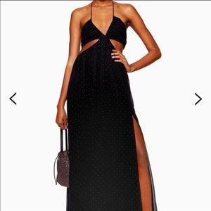 Just In! NWT Top Shop Rainbow Dot Maxi Dress